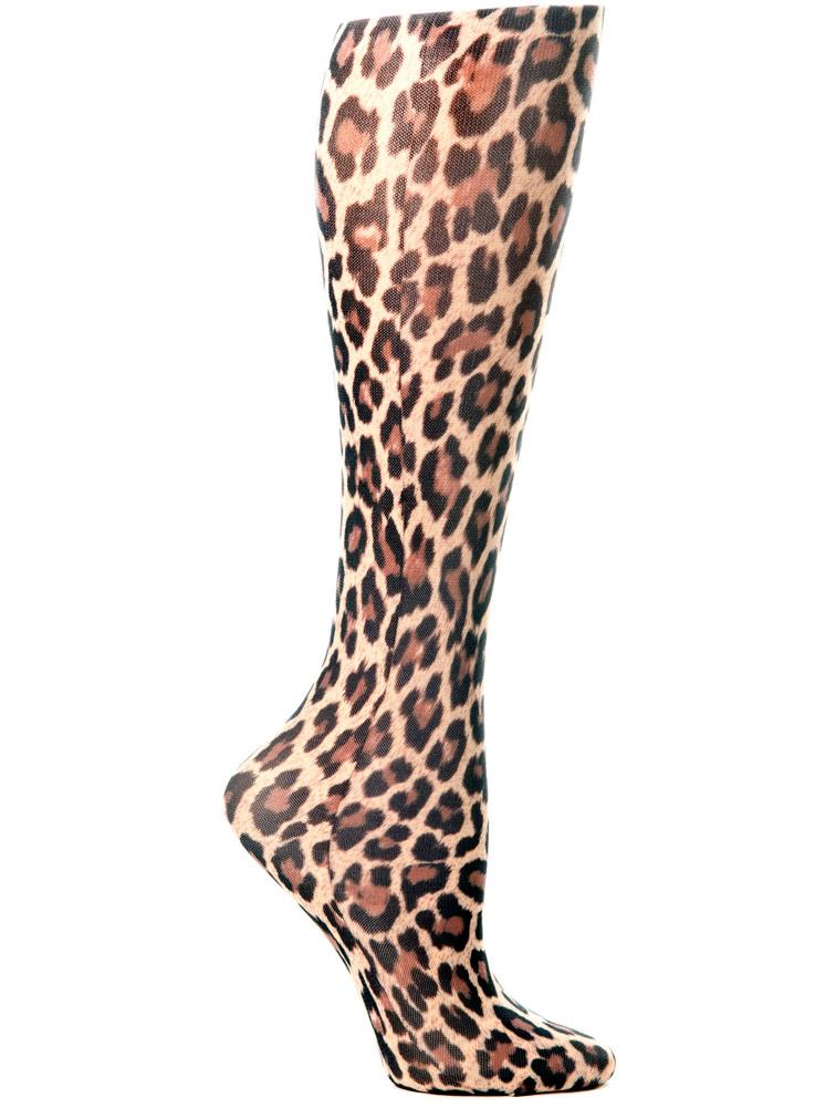 'Hairy Leopard' Fashion Compression Sock 8-15 mmHg