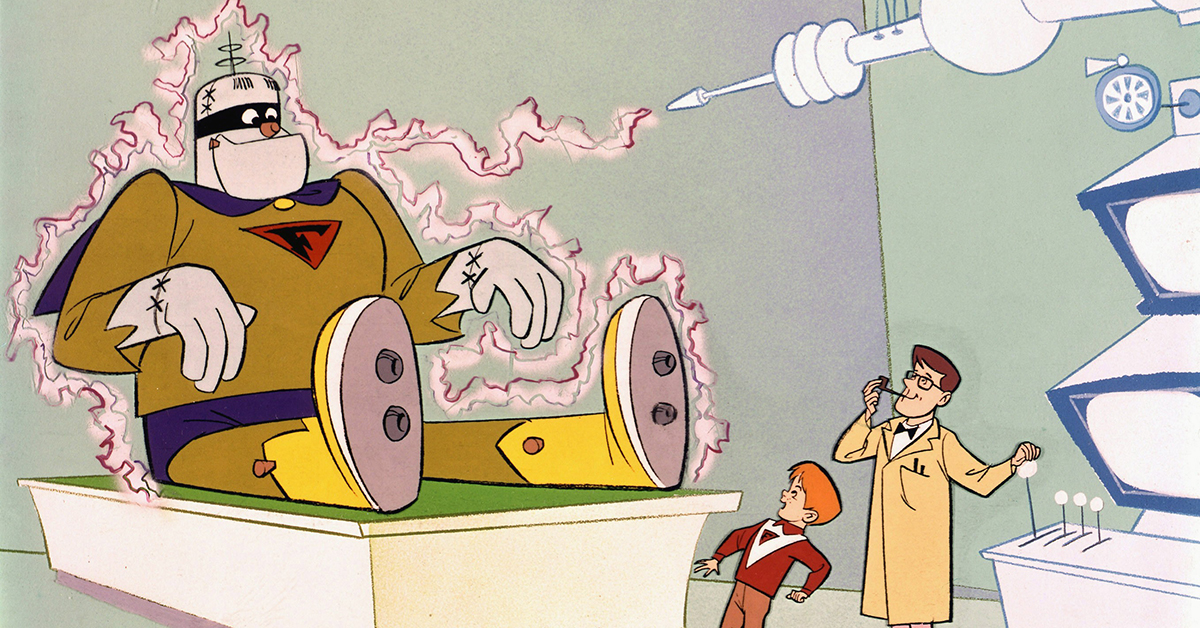 Can you name these classic Hanna-Barbera cartoon characters?