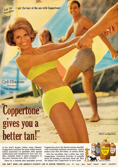 16 Coppertone Sunscreen Ads Starring The Biggest Stars Of