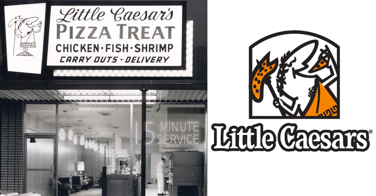 Then and now the evolution of 23 fast food logos for What kind of fish does long john silver s use