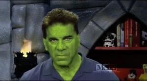 Lou Goes Green for Super Sci-Fi Saturday Night