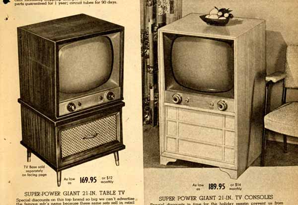 Remember When Televisions Were Furniture