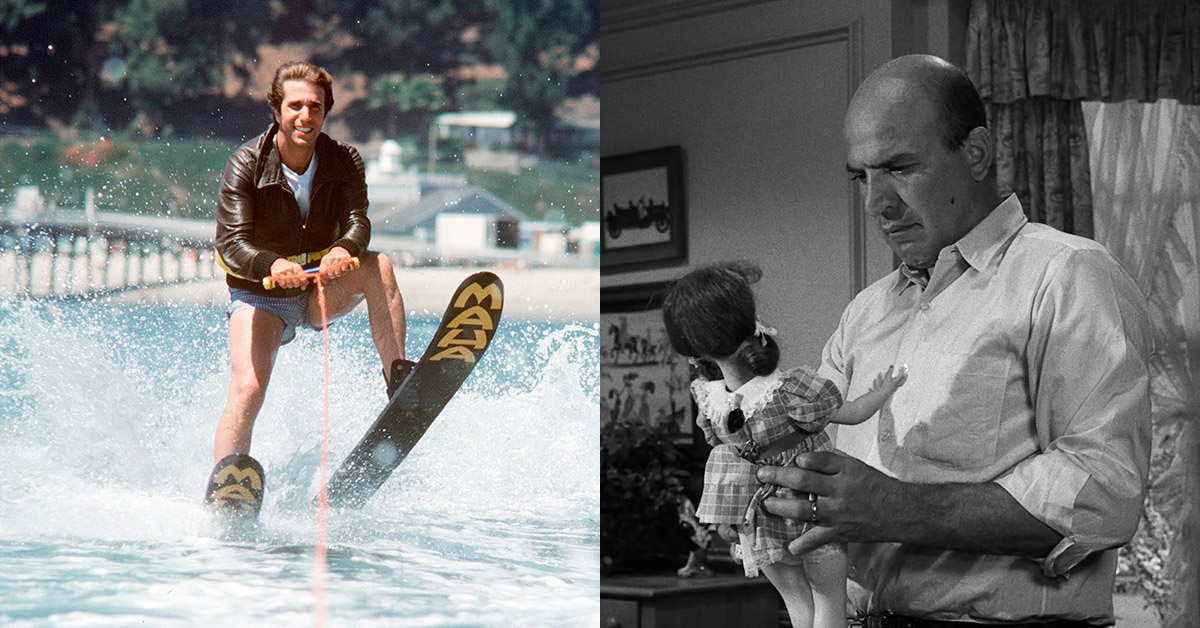 Fonzie Jumps The Shark Doll
