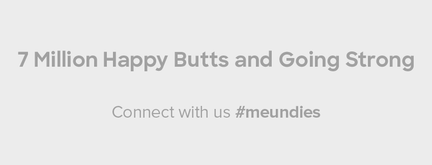 7 Million Happy Butts and Going Strong | Connect with us #MeUndies