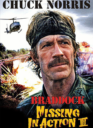 Braddock: Missing In Action III  Missing In Action Poster
