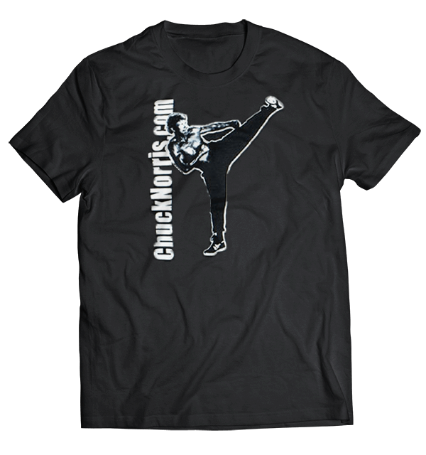 Black Karate T- Shirt