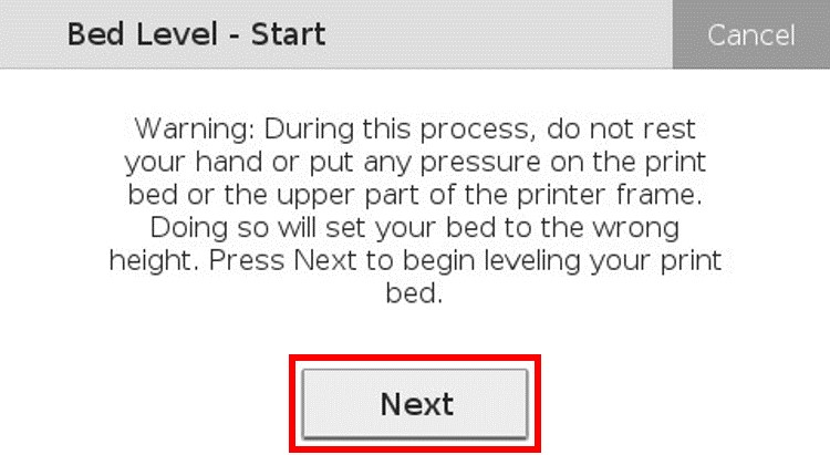 Level the Print Bed – Markforged