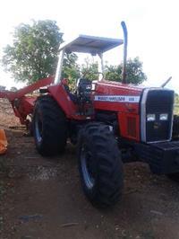 Trator Massey Ferguson 650 4x4 ano 96