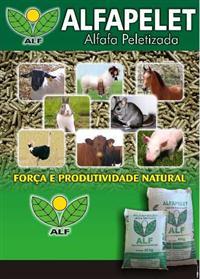 Alfafa peletizada, sacos 40kg Equinos, bovinos, avestruzes, caprinos, ovinos, suínos