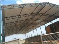 Fabricação: Galpão, alambrado, telhado, cercas, mezanino, portão, grades, estrutura para casa rapida