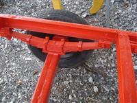 chassis de carreta basculante 1 eixo com molejo