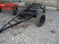 chassis de carreta 2 eixos com pneu