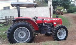Trator Massey Ferguson 283 4x4 ano 10