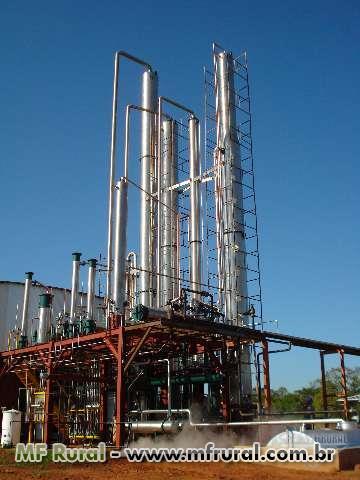 Mini usina de etanol
