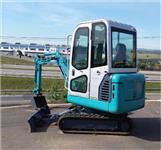 Mini-escavadeira 1,8 ton