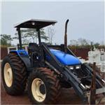 Trator Ford/New Holland TL95 4x4 ano 02