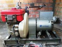 Grupo Gerador a Diesel de 12.5Kva Trifásico