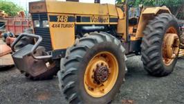 Trator Valtra/Valmet 148 4x4 ano 88