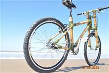 Quadro De Bambu Com Garfo - Artesanal - Ecologico-