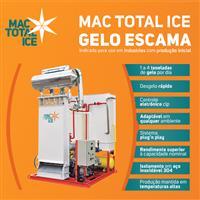 Maquina de Gelo Escama Compacta