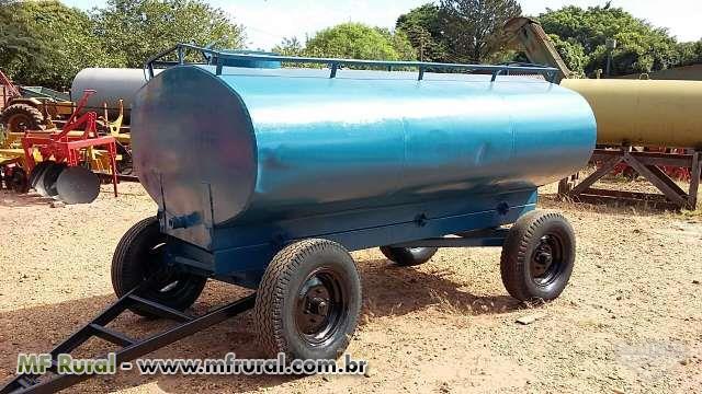 Carreta tanque 4.000 litros