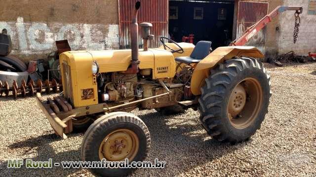 Trator Valtra/Valmet 62 ID 4x2 ano 85