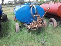 Tanque para armazenamento de agua e Irrigação AZUL