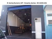Armazém - Vende-se ou Aluga-se em Santos