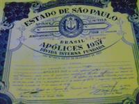 Ativos Financeiros Cautelas de Apólices da Dívida Interna Fundada( Perpétua) do Estado de São Paulo