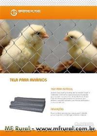Telas para Granja de Aves