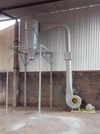 Exaustor,ventilador com filtro suporte que pode por um bag de baixo com motor 3 cv trifasico