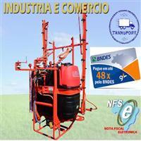 Pulverizador Falcão 800 litros Barramento 12 metros Manual ( Novo )
