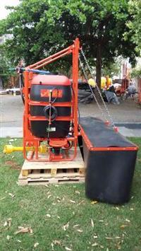 Pulverizador Águia 600 Barra Conceição - Aplicação de Herbicida Protegida