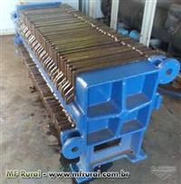 Filtro prensa ferro fundido usado
