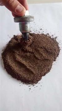 Pó de ferro Contrapeso excelente densidade