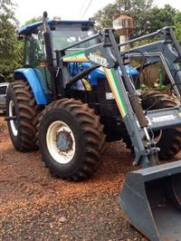 Trator Ford/New Holland TM 7040 4x4 ano 10