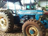 Trator Ford 6610 4x4 ano 85