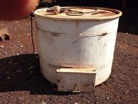 Caixa de dois mil litro de fibra para transporte de peixes