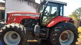 Trator Massey Ferguson 7415 4x4 ano 10