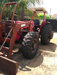 Trator Massey Ferguson 296 4x4 ano 84