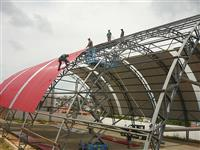 Fabicaçao e montagem de estruturas metalicas