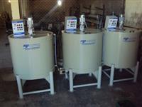 Tanques de mistura e armazenamento de produtos químicos