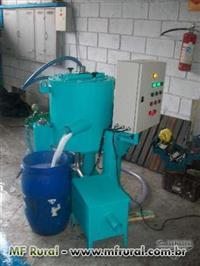 Centrifuga concentradora para ouro aluvial
