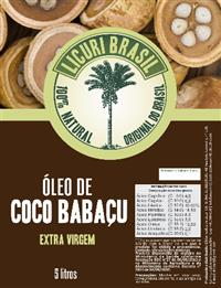 Óleo de coco Babaçu