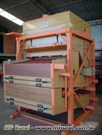 Maquina pré limpeza lc160/ SP de madeira kepler weber reformada 40 T H