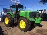 Trator John Deere 7515 4x2 ano 08