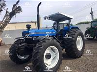 Trator New Holland 7630 4x4 ano 05