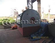 Turbo Gerador  Capacidade 7 5 MW  Composto por Turbina a Vapor de Condensação Westinghouse Pressão