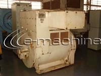 Gerador de energia marca Siemens tipo 1FC5562-4, potência de 1.500kva / 1.200 kw, 380 volts, 60 Hz.