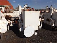 Turbina marca NG, DME 700S, múltiplos estágios, pressão 21 kgf, contra pressão 1,5, 4000rpm, 1400hp.